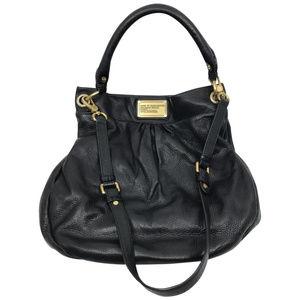 MARC JACOBS Black Leather Bucket Bag